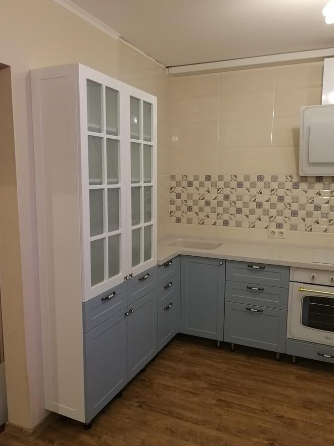 Классические кухни-Кухня МДФ в ПВХ «Модель 28»-фото7