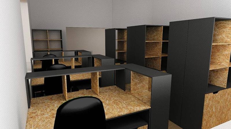 Офисная мебель-Офисная мебель «Модель 101»-фото1