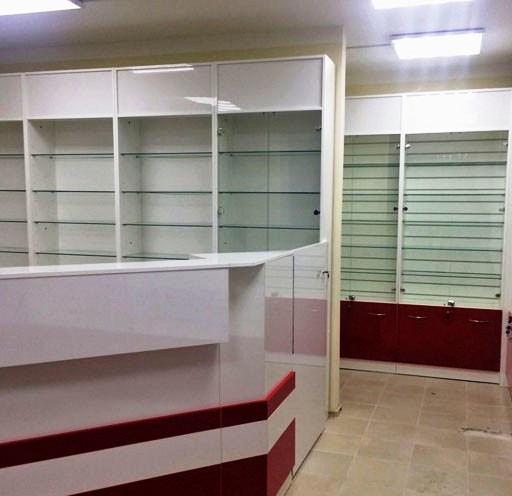 -Мебель для аптеки «Модель 184»-фото2