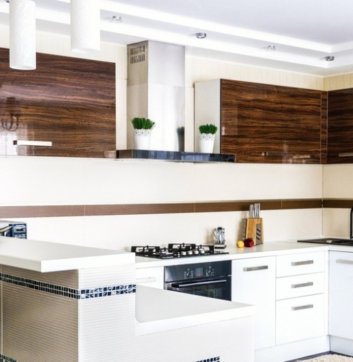 -Кухня из акрила «Модель 407»-фото10