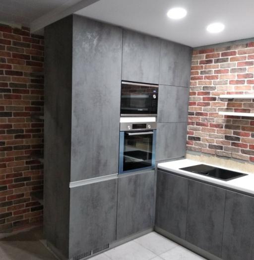 -Кухня МДФ в ПВХ «Модель 442»-фото19