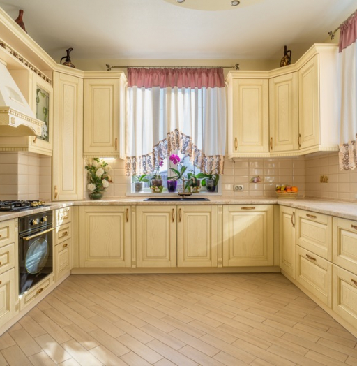 -Кухня из шпона «Модель 3»-фото2