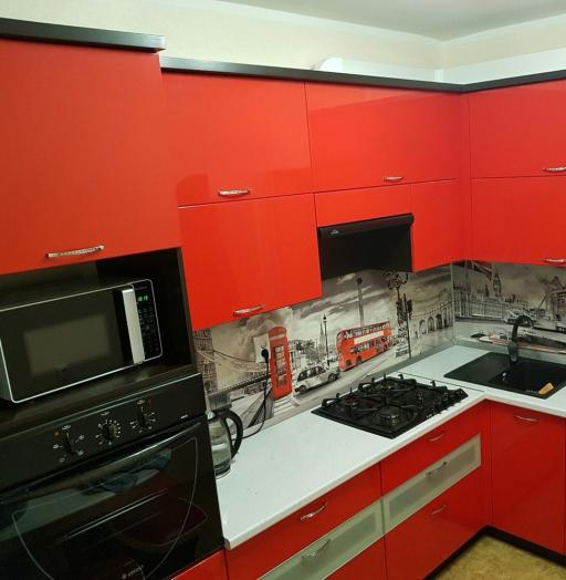 -Кухня из пластика «Модель 138»-фото18