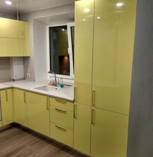 -Кухня МДФ в эмали «Модель 163»-фото28
