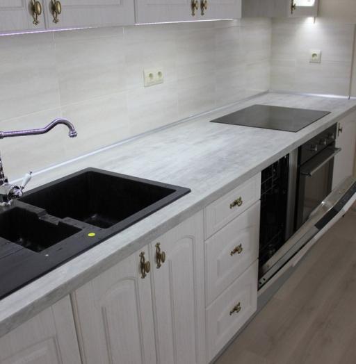 -Кухня из пластика «Модель 185»-фото21